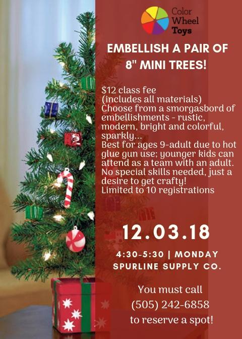 mini tree workshop