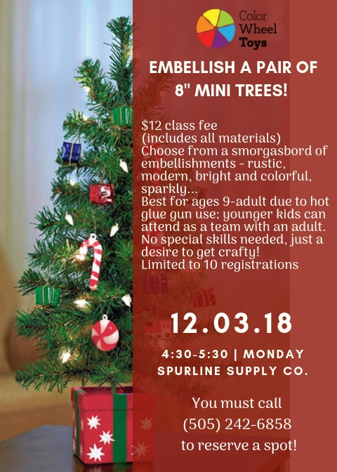 mini tree workshop