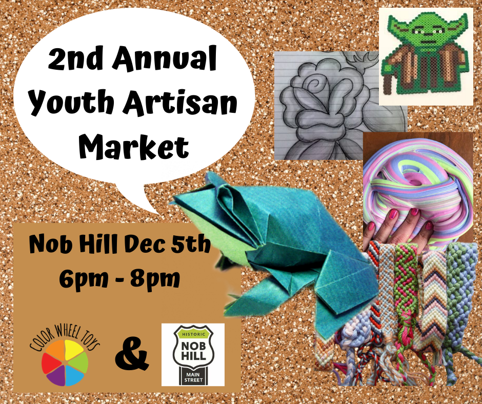 2nd Annual Youth Artisan Market